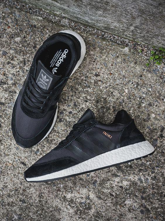 adidas Originals Iniki Runner: Black