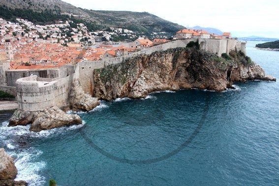 La vieille ville de Dubrovnik - Croatie | Christie Cartes   $2 - Photo de Thibaud Laroche - christiecartes.com