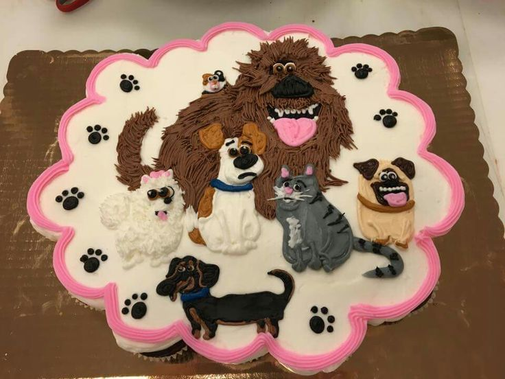 Secret Life Of Pets Cupcake Cakes In 2019 Pinterest