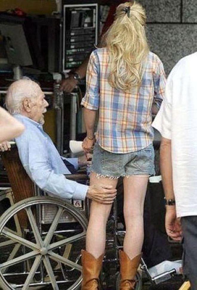 Hot young women seeking older men