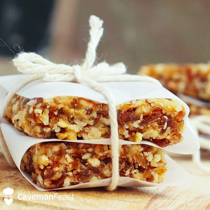 Try this Apple Pie Caveman Bars from the Caveman Feast app