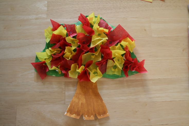 How To Make A Burning Bush Craft