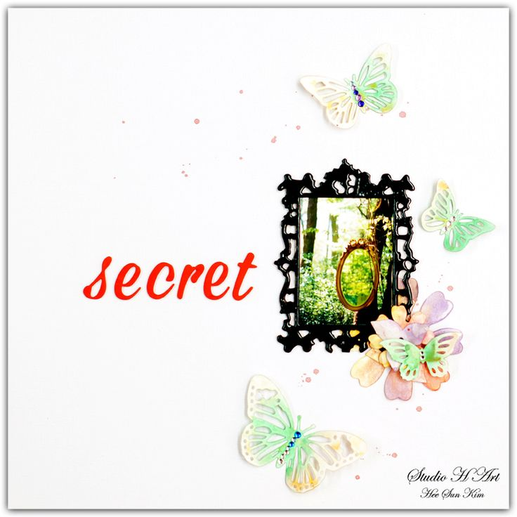 STUDIO H ART: Watercolor Scrapbooking