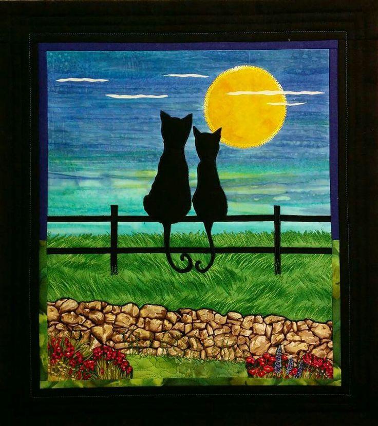 Katte romantikk i måneskinn