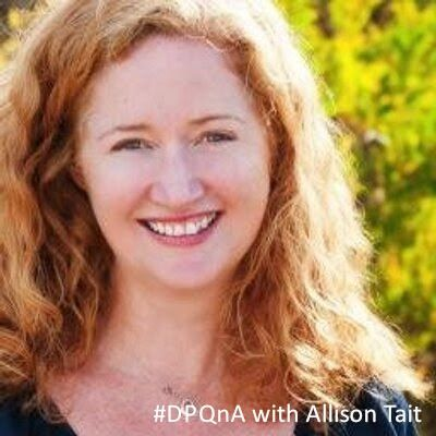 The very lovely Allison Tait joined us last week for our live Expert Q&A chat. She very generously shared her time as well as her bloggy and writerly wisdom with us. We've transcribed her session in case you missed out on the event. Grab a cuppa and enjoy!