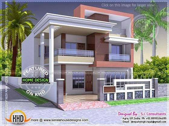 house front design indian home design indian house house layouts small