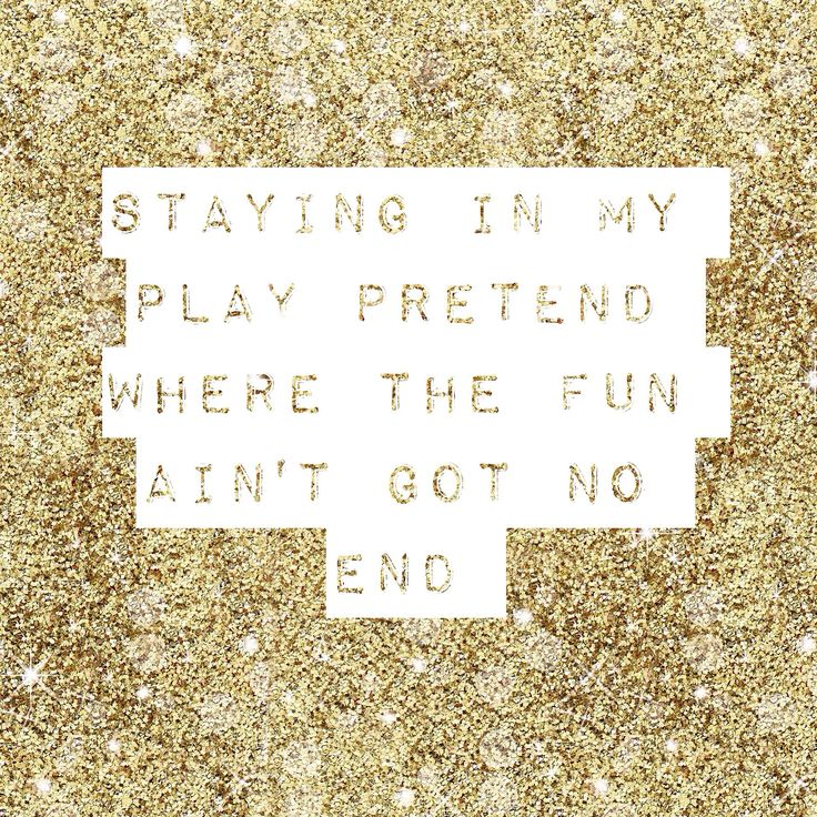 """Staying in my play pretend where the fun ain't got no end"" - Habits by Tove Lo. #lyrics"