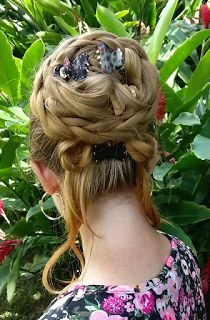 Marguerite Updo, inspired by the heroine in The Scarlet Pimpernel