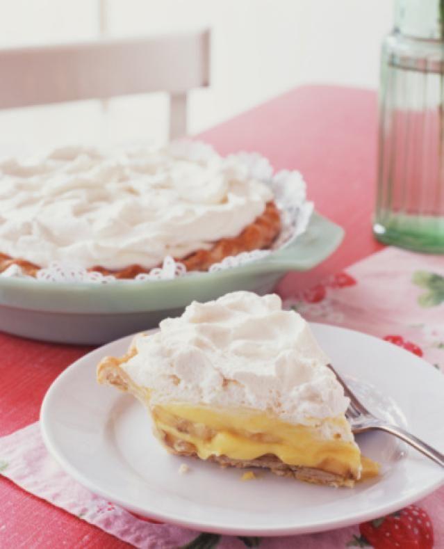 Homemade Banana Cream Pie Recipes
