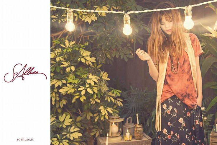 SoAllure advertising campaign on Glamour magazine February