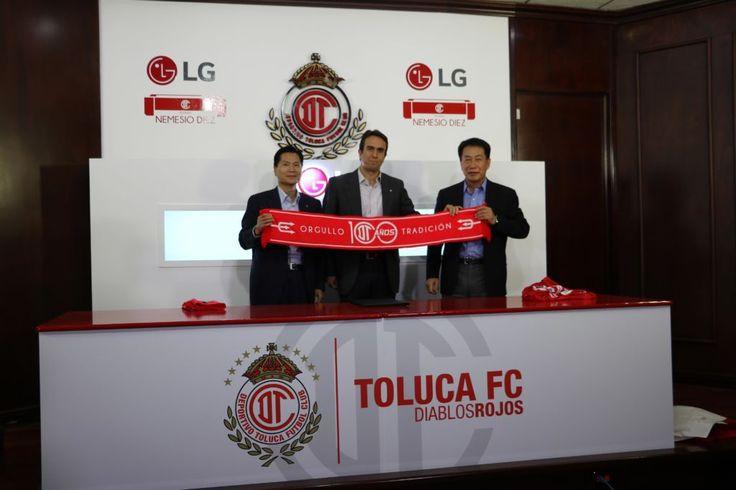 LG colabora como socio tecnológico del Deportivo Toluca FC - https://webadictos.com/2016/10/08/lg-socio-tecnologico-del-deportivo-toluca-fc/?utm_source=PN&utm_medium=Pinterest&utm_campaign=PN%2Bposts