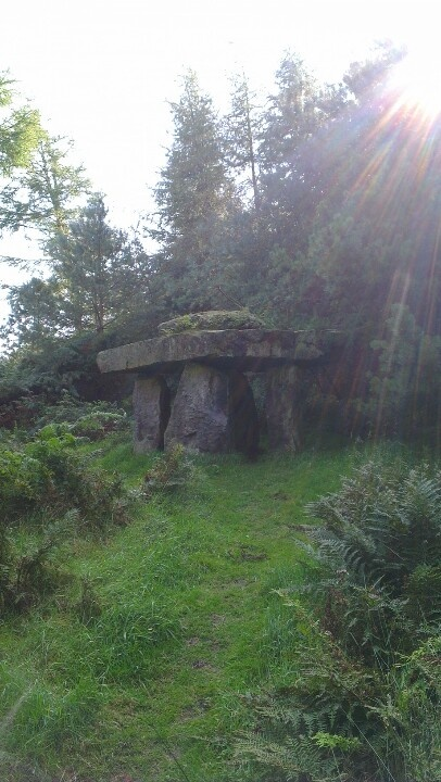 Dolmen, Druid's Temple, nr Masham, North Yorkshire