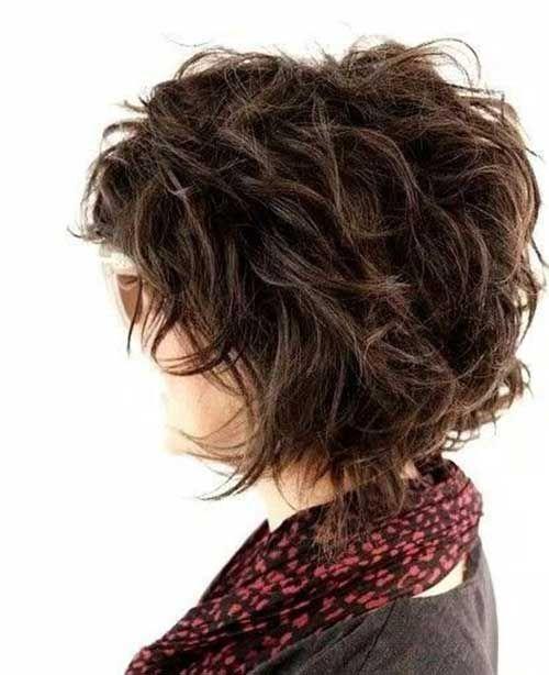 Shaggy Short Hair Cut