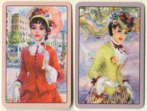Swap Cards_Paris ladies