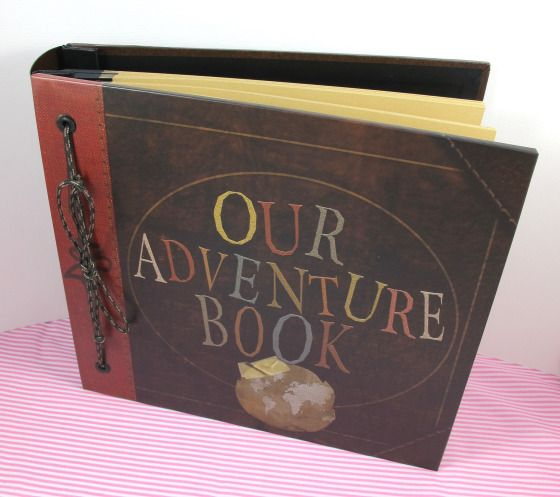 First wedding anniversary gift: paper 'Our Adventure Book' from Up!
