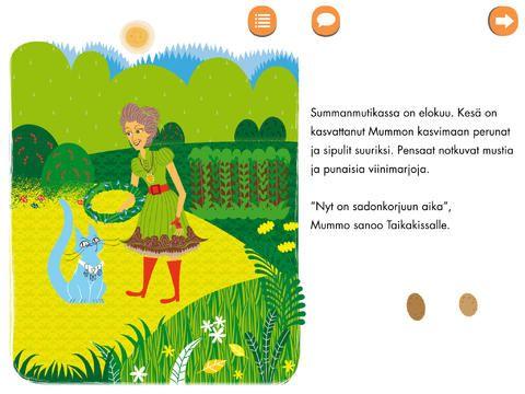 Heti Hätiin -applikaatiossa voit lukea tai kuunnella lastenromaanin.