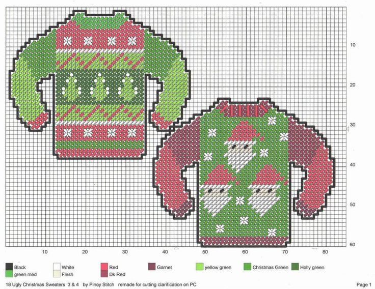 Ugly Christmas Sweaters * 2/7