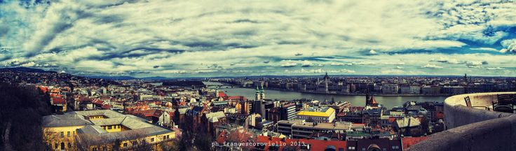 Veduta da Bastione dei pescatori, Budapest.  ph_francescoroviello