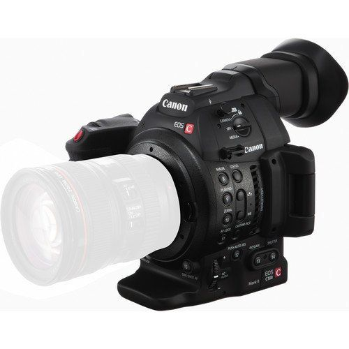Canon EOS C100 Mark II Cinema Camera with Dual Pixel CMOS AF (Body Only) (International Version - No Warranty)