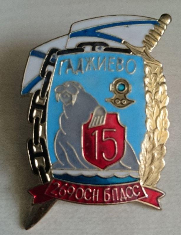 Russian badge. Russia. 269th Combat Swimmer unit. Naval diver, spetsnaz