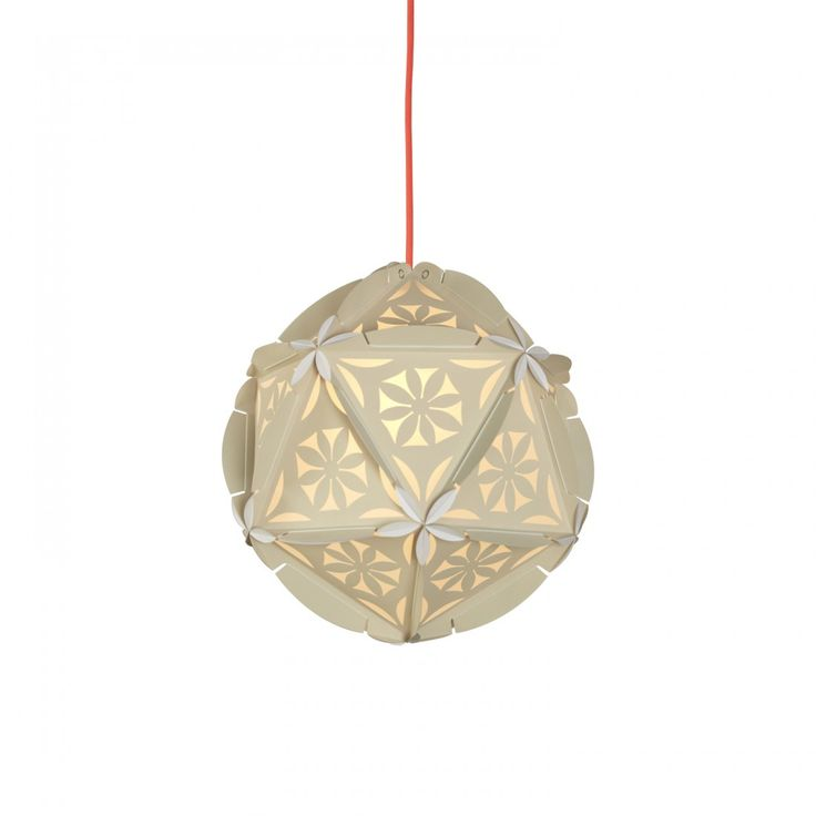 Como Nude Paper Pendant Lamp, France and Son, http://www.franceandson.com/the-zahra-nude-pendant-lamp.html