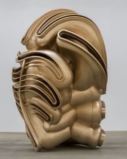 "my-kelde:  ""Tony Cragg. Migrant, 2015.  bronze  """