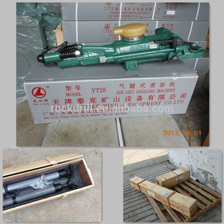 hot sales low noise air leg rock drill YT28/jack hammer/mineria perforadora de roca/mini jack hammer