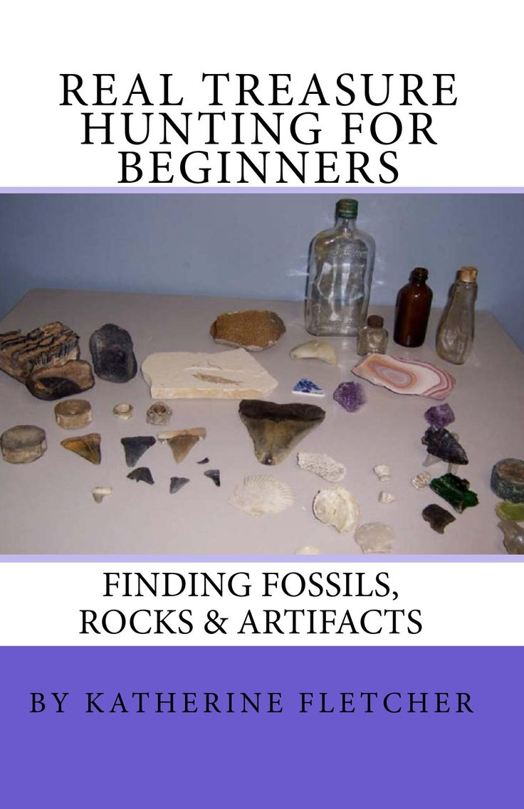 This is an easy to read guide for beginners on how to find real treasure. Learn how to find fossils, rocks, artifacts around the U.S. Great fun for kids, teens and the whole family. This book also includes metal detecting information, a treasure log sheet and links for complete state by state listings of fossil and rock sites. http://www.amazon.com/Real-Treasure-Hunting-Beginners-Artifacts/dp/1449906656/ref=sr_1_10?s=booksie=UTF8qid=1384725452sr=1-10keywords=Katherine+Fletcher