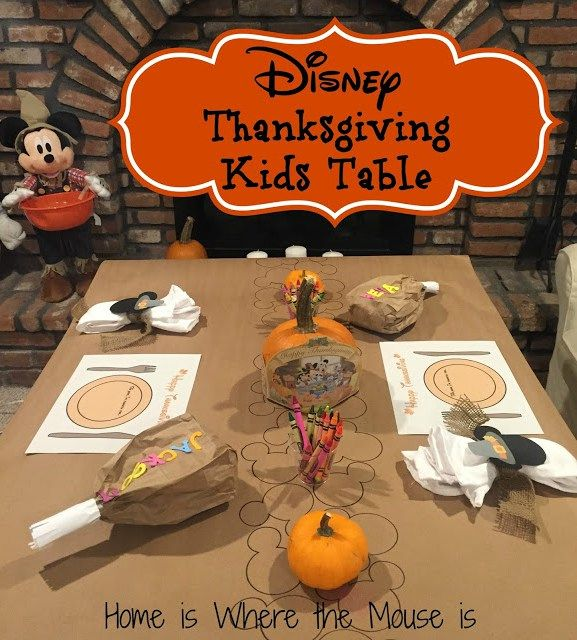 67 best images about disney in the fall on pinterest for Table 52 thanksgiving