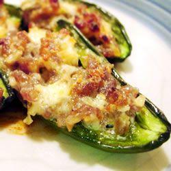 Pork sausage stuffed peppers recipe