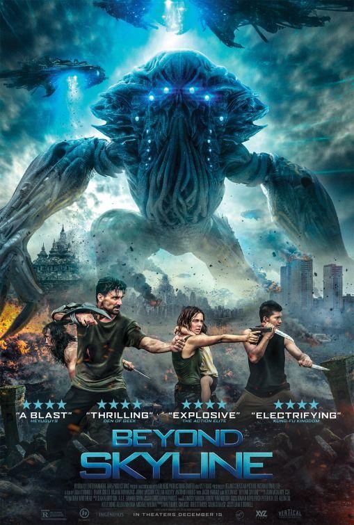 Beyond Skyline original movie poster!