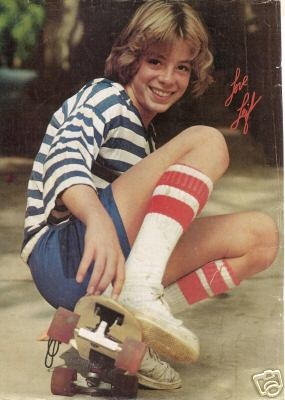 Leif Garrett, skateboard, and tube socks ... a 3 in 1 !