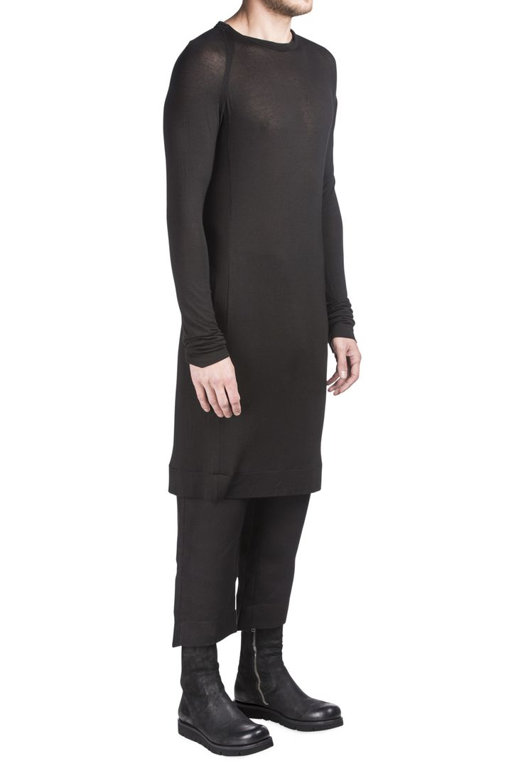 Sosnovska Black Jersey Dress #Shopafar #Sosnovska #avantgarde #black #luxury #fashion #menswear