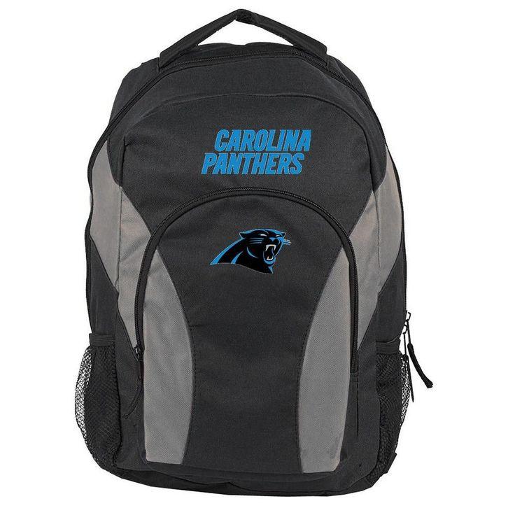 Carolina Panthers NFL Draft Day Backpack (Black)