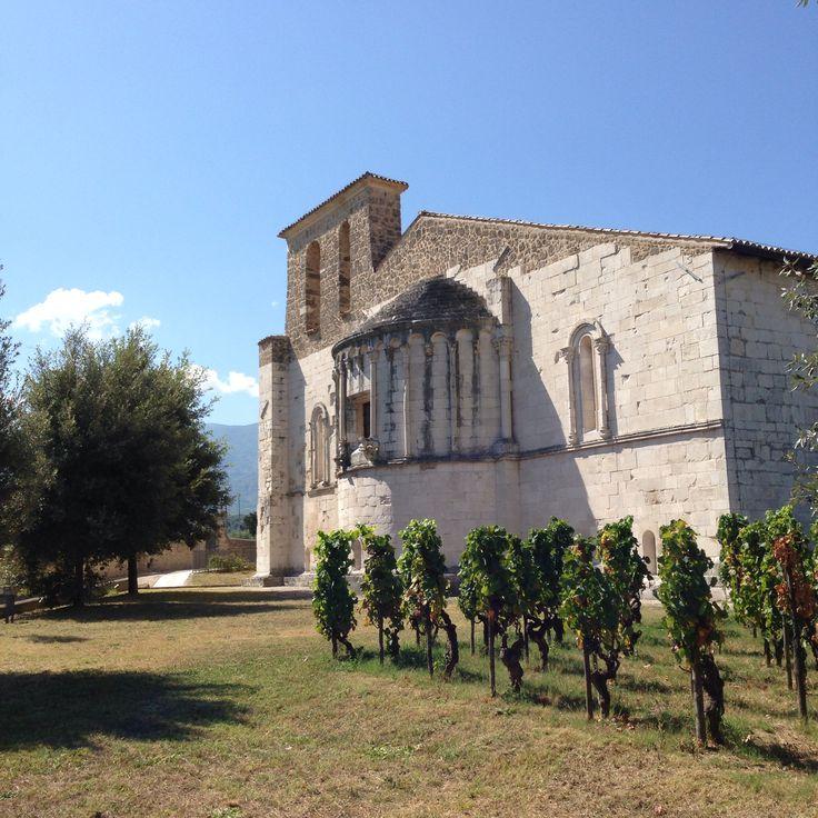 Abside e vite retro dell' Abbazia di San Clemente a Casauria Majella