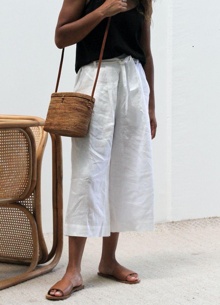 Woven ATA Bag  Handwoven Ata Grass bag with Leather Strap.