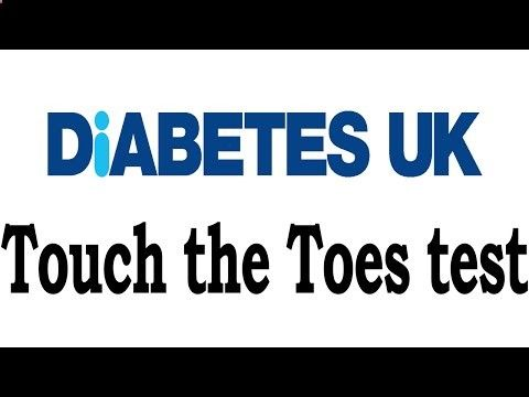 Diabetes UK ► How to perform the Touch the Toes test ► Tests For Diabetes - CLICK HERE for the Big Diabetes Lie #diabetes #diabetes1 #diabetes2 #diabetestreatment Click Here : If it is poorly controlled, diabetes can cause nerve damage, or neuropathy. The Touch the Toes test is an easy way to assess the feeling in your feet. Here, Dr Gerry Rayman – who designed... - #Diabetes