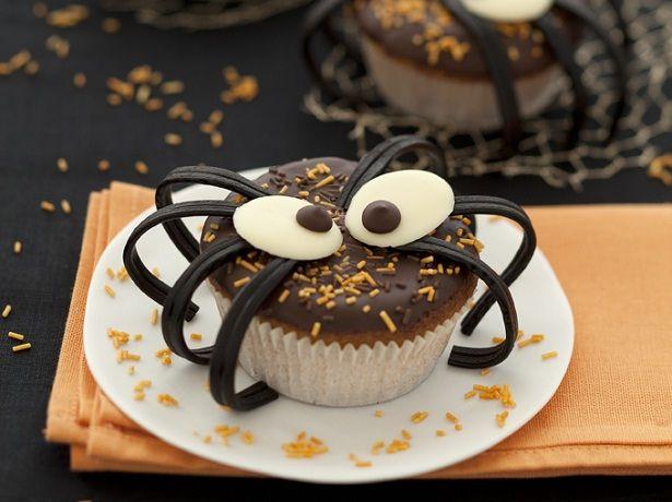 Muffins araignée d'Halloween - La Table à Dessert