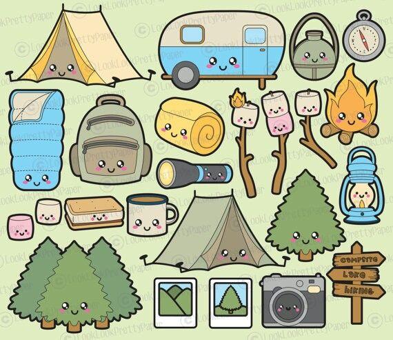 Kawaii camping