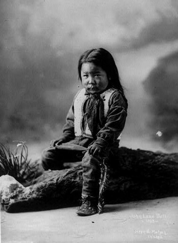 Tatanka Isnala aka Lone Bull, aka John Lone Bull - Oglala - 1900-2