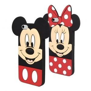 Minnie and Mickey Mouse phone cover - iPh 6/6s