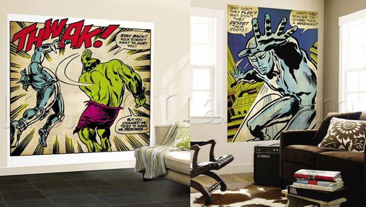 Marvel Murals.