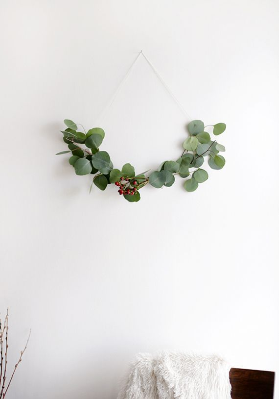 Minimalist wreath ideas | The Merrythought