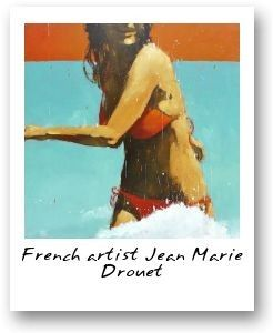 24 best jean marie drouet images on pinterest art drawings surf art and beach art. Black Bedroom Furniture Sets. Home Design Ideas
