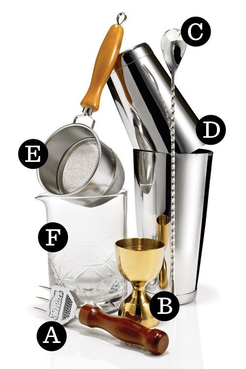 Take your mixology game to the next level with these sophisticated, elegant bar tools.