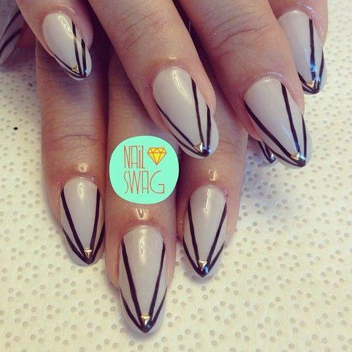 nail-swag: THE JESSICA NAIL for @jess2square! #nailswag #nails...