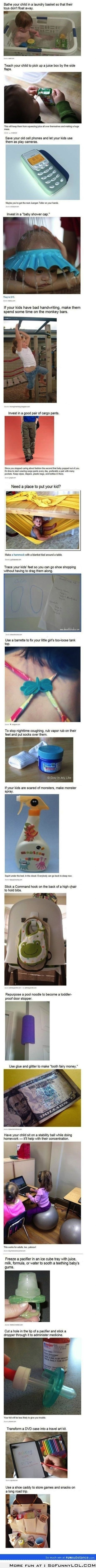 Little Parenting Life Hacks