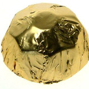 Delicious Foiled Chocolate Diamonds.