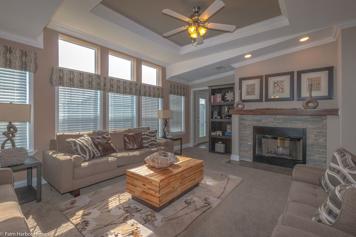 So much beautiful light in the new Tradewinds - 4 Bedrooms, 3 Baths, 2595 Sq. Ft. - Triple-wide Manufactured Home at Palm Harbor in Plant City, Florida
