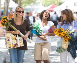 Downtown San Jose Farmers' Market - Farm Fresh Fridays! The cozy outdoor market takes place each Friday, from 10 a.m.-2 p.m. along a charming block of San Pedro Street between Santa Clara and St. John streets.